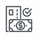 credit, currency, money, option, payment, settings icon