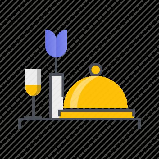 customer, hotel, room, service, services icon