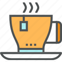 bag, beverage, cup, drink, hot, mug, service, tea icon