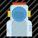 astronaut, helmet, space, spaceman, suit icon