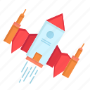 alien, ship, space, spacecraft, spaceship icon