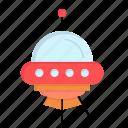 alien, rocket, ship, space icon