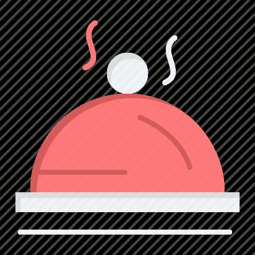 dish, hotel, pallater, service icon