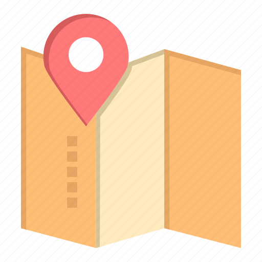 location, map, pin, service icon