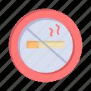 hotel, no, nosmoking, smoking icon