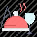 dish, food, glass icon