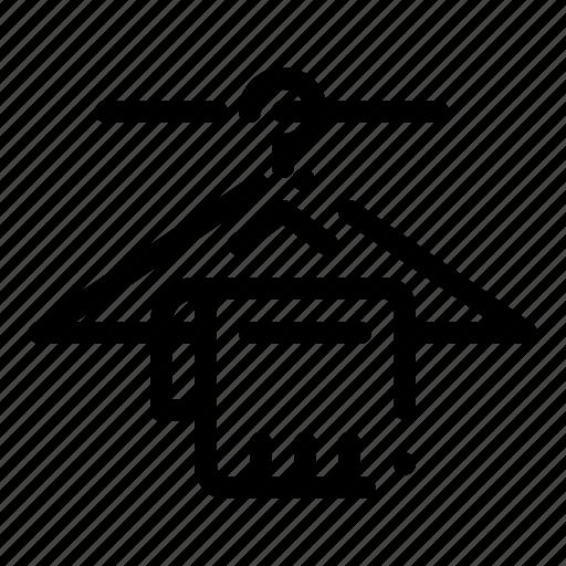 Hanger, hotel, service, towel icon - Download on Iconfinder
