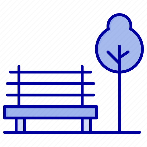 Banch, chair, hotel, park icon - Download on Iconfinder