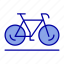 bicycle, movement, sport, walk