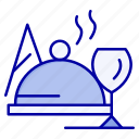 dish, food, glass icon