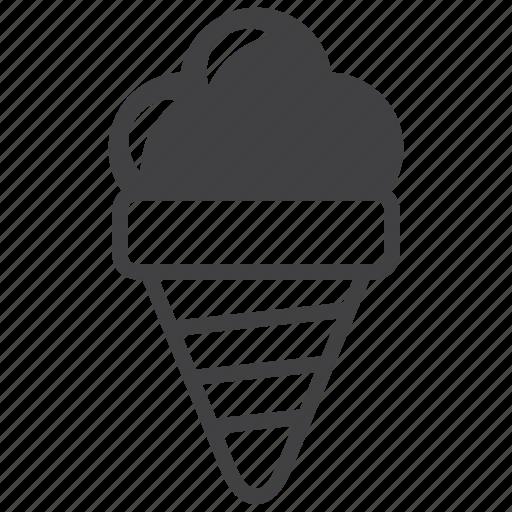 cream, dessert, food, ice, kid, sweet, yogurt icon