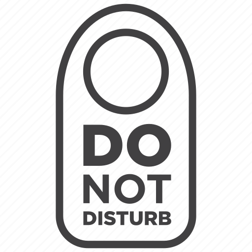 allowed, disturb, do not, do not disturb, plate, sign, warning icon