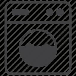 appliance, clothes, clothing, hygiene, laundry, machine, washing icon