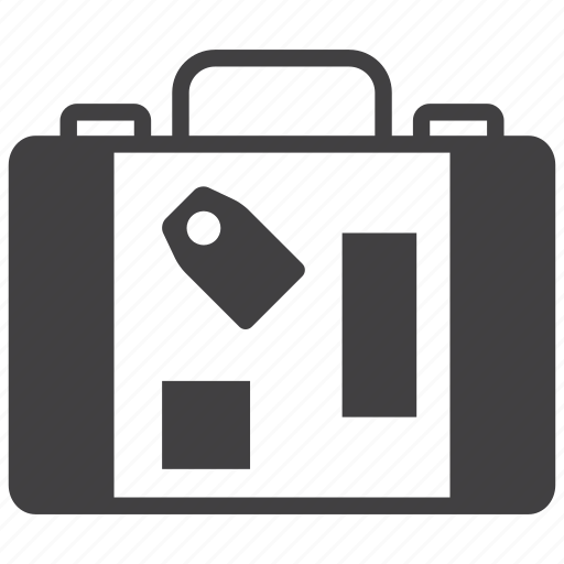 Luggage, bag, baggage, suitcase, travel, briefcase, vacation icon - Download on Iconfinder