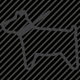 animal, animals, dog, paw, pet, pets, walk icon