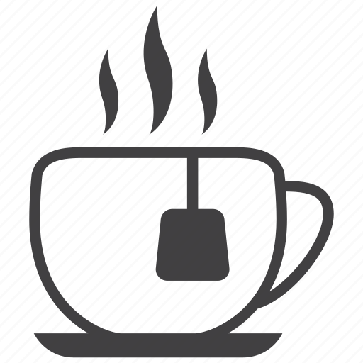 cafe, coffee, cup, drink, hot, smoke, tea icon