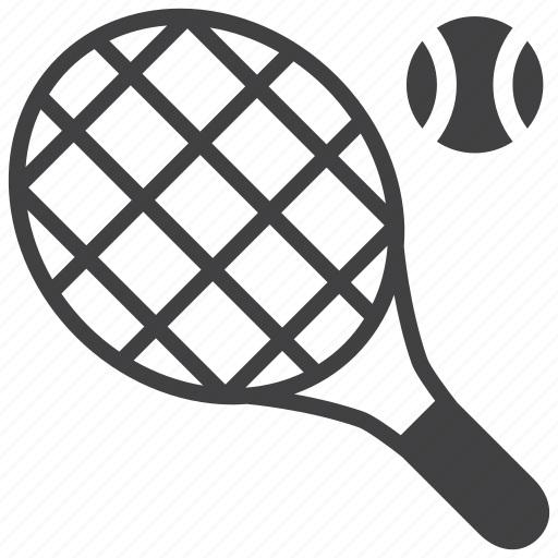 ball, game, play, racket, racquet, sports, tennis icon