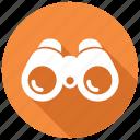 binoculars, explore, spyglass