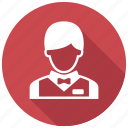 busboy, waiter icon