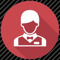 busboy, waiter icon