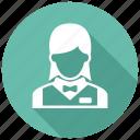 busgirl, waitress icon