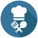 cap, chef, cooking icon