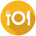 cutlery, eating, tableware icon