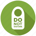 disturb, do not disturb, sign icon