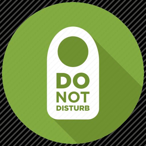 disturb, do not disturb, sign icon