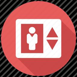 elevator, lift icon