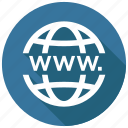 internet, web, network icon