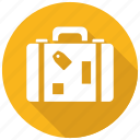 baggage, luggage, suitcase icon