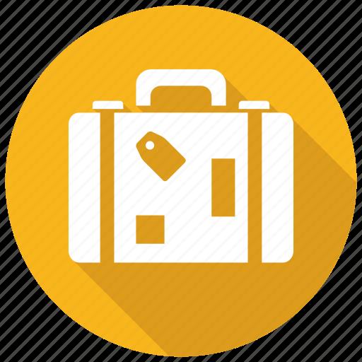 baggage, luggage, suitcase icon