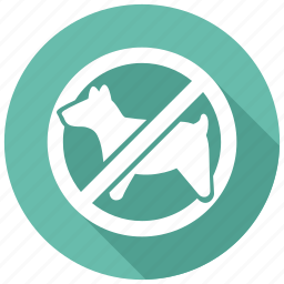 allowed, dog, pets, prohibited icon