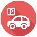 parking, car, garage