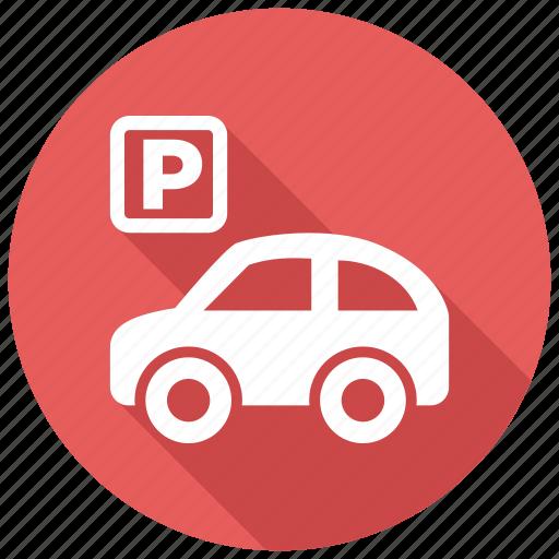 car, garage, parking icon