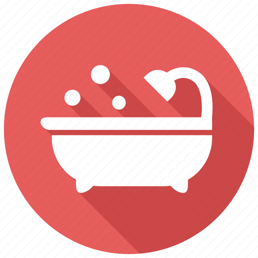 Bathtub Hygiene Shower Icon