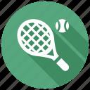 tennis, racket icon