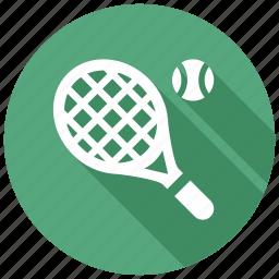 racket, tennis icon