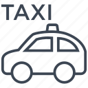 taxi, cab, car, transport, vehicle, travel, road