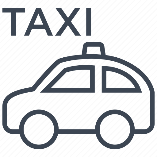 cab, car, road, taxi, transport, travel, vehicle icon