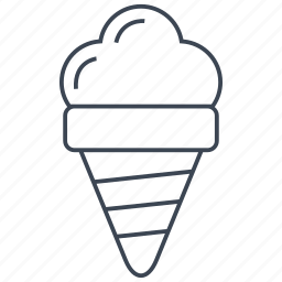 cream, dessert, food, ice, ice cream, kid, sweet icon