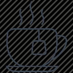 breakfast, cafe, coffee, cup, dessert, drink, tea icon