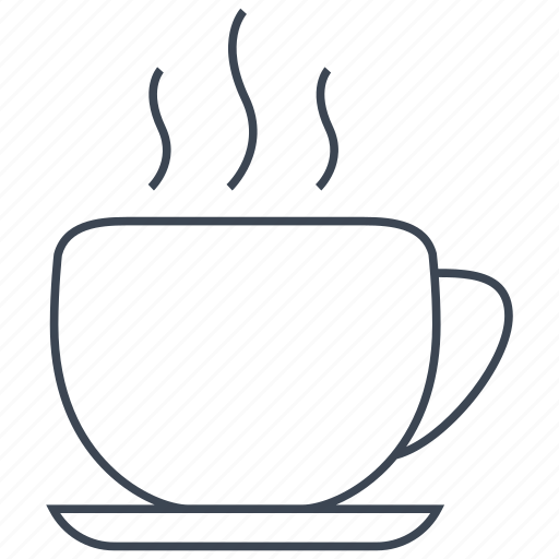 breakfast, cafe, coffee, cup, drink, hot, tea icon