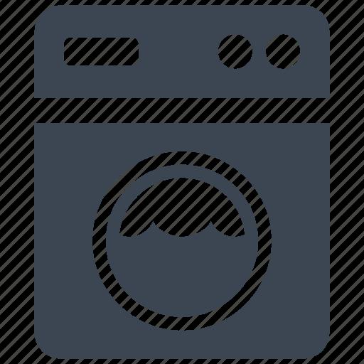 amenities, electronics, hotel, household, laundry, washing machine icon