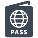 document, id, passport icon
