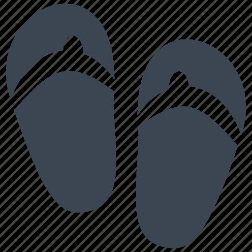 beach, flipflop, fun, holiday, sandal, sandals, slipper icon