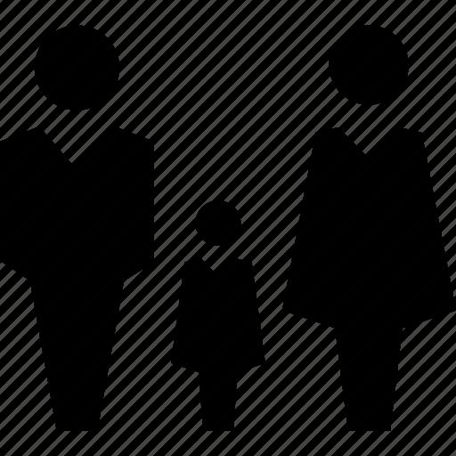 family, family members, family room icon