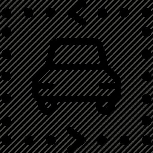 car, park, parking, storage icon
