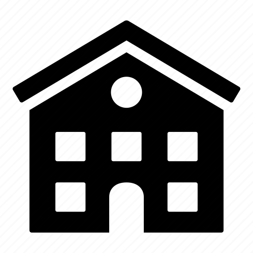 building, compartment, estate, home, house icon